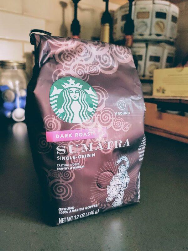 Starbucks sumatra roast ground coffee review