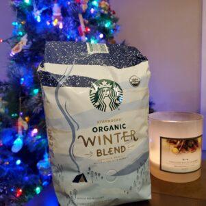 Starbucks Winter Blend Whole Bean Coffee, 40 Oz