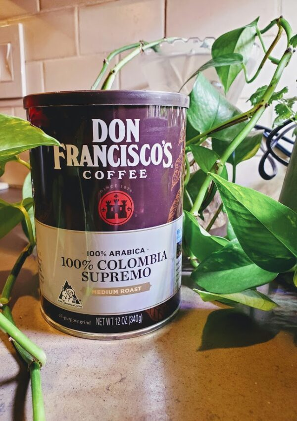Coffee Medium Roast Don Francisco's 100% Colombia Supremo
