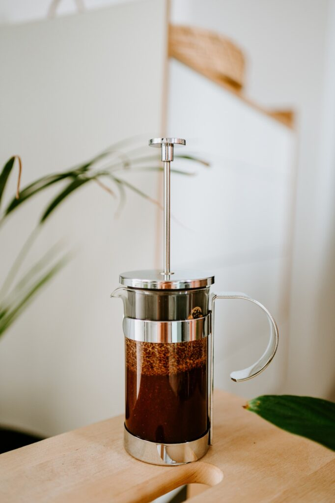 French Press Aesthetic